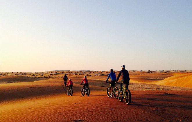 Wüstentouren mit Fahrrädern Swakopmund