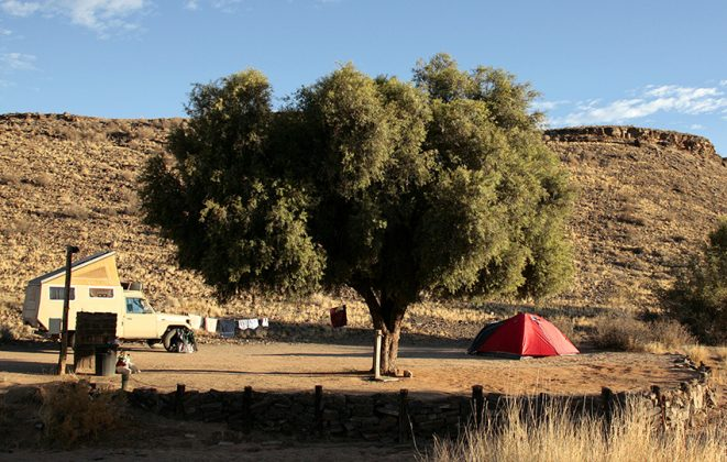 Canyon Road Campsite