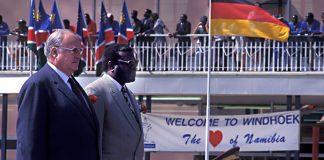 Erinnerungswürdig: Helmut Kohl besuchte vor 22 Jahren Namibia