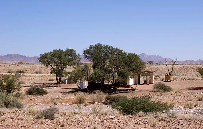 Namib Desert Campsite