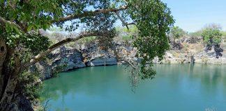 Otjikoto-See bei Tsumeb