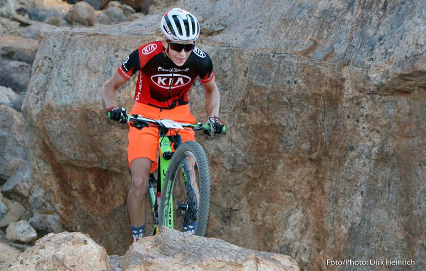 Mountainbiken Namibia Schalk van der Merwe