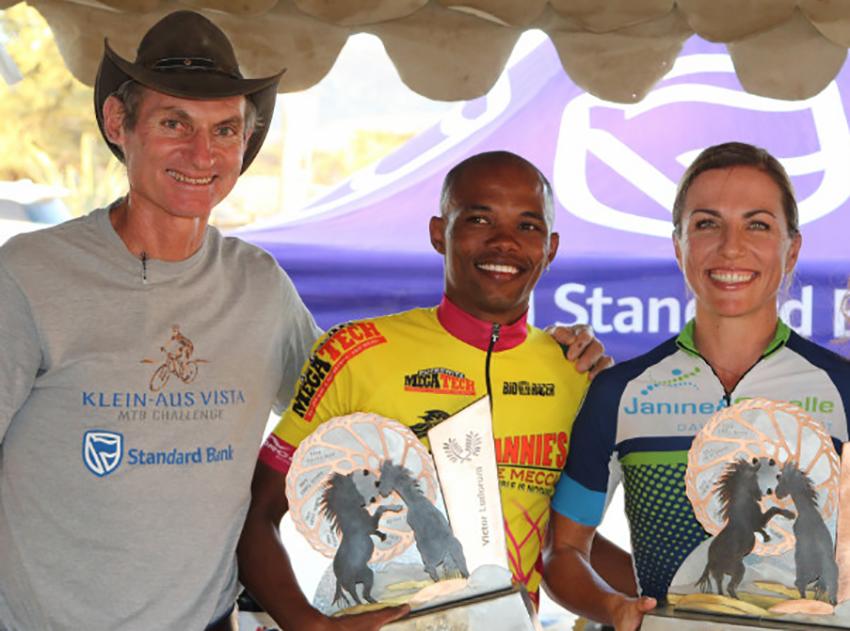 Klein-Aus Vista Mountainbike Challenge Siegerehrung