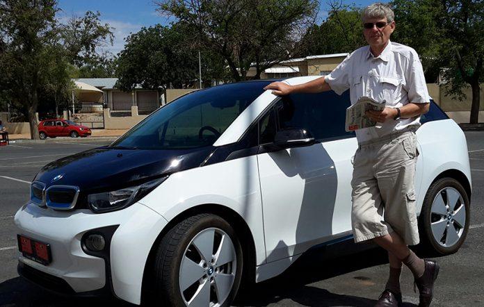 Elektro-Auto Namibia