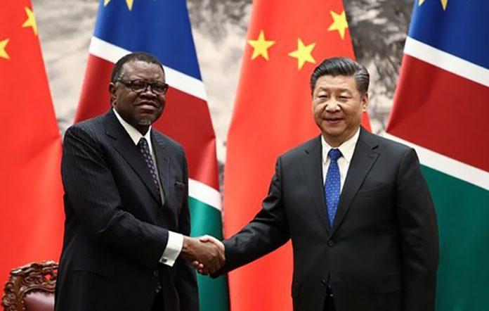 Nambia China Staatsbesuch