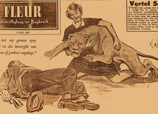 Löwenangriff Fleur 2 Mai 1954