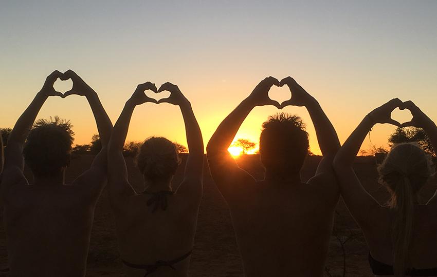 Ein Herz für Namibia