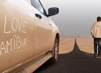 I love Namibia