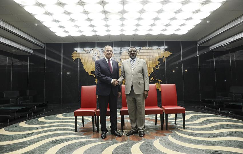 Namibisch-russische Beziehungen