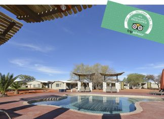 Kalahari Anib Lodge TripAdvisor Hall of Fame