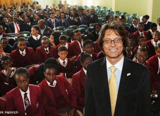 Dr. Japie van Zyl in Namibia