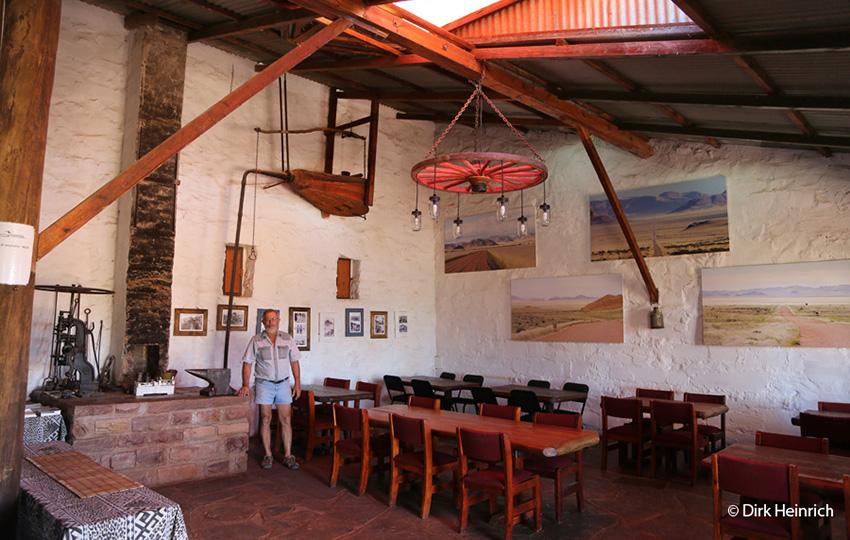 Gästefarm Duwisib alte Schmiede