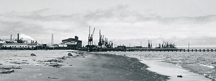 Walvis Bay Hafen 1968