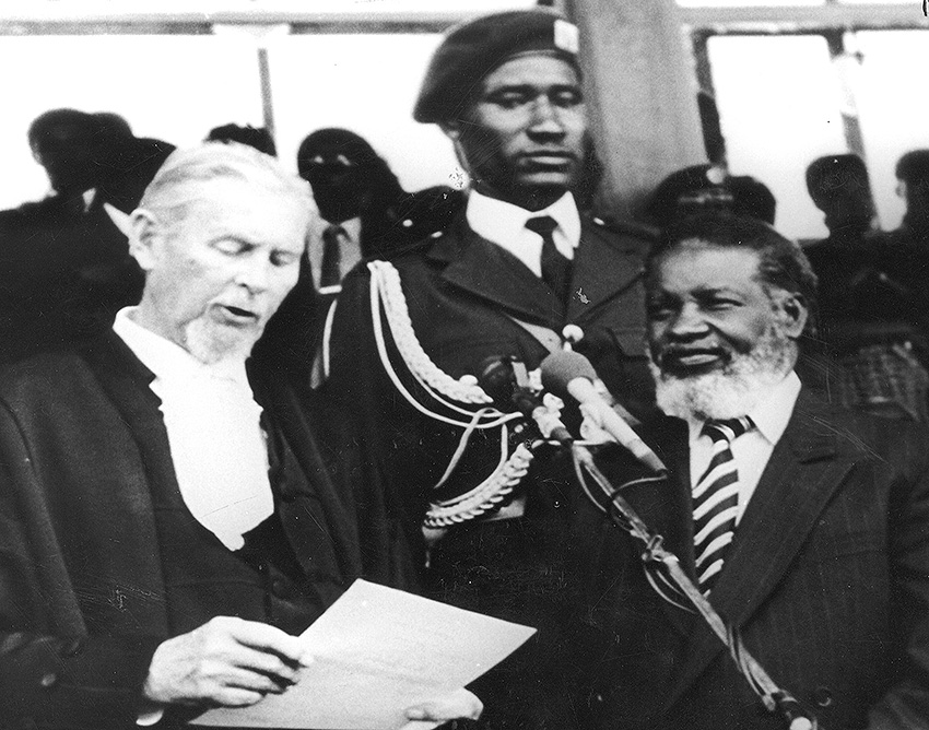 Namibia Unabhängigkeit