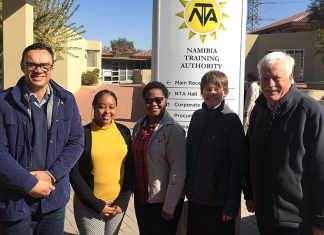 Lehrlingsprogramm Namibia