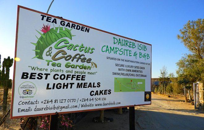Cactus & Coffee Teegarten