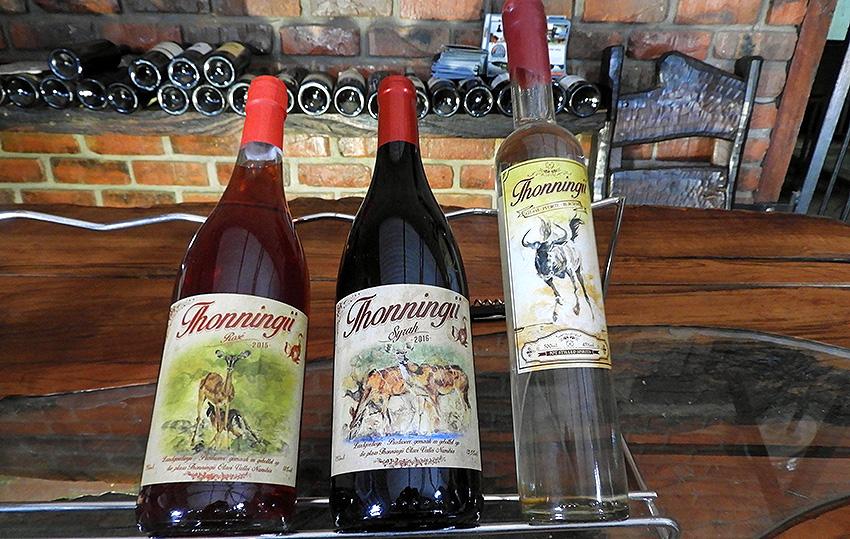 Thonningii-Wein, Namibia