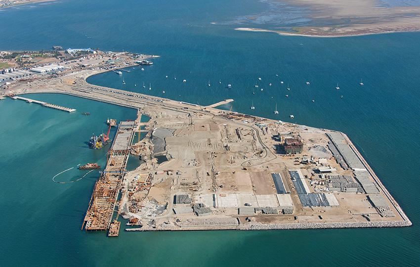 Walvis Bay Containerterminal