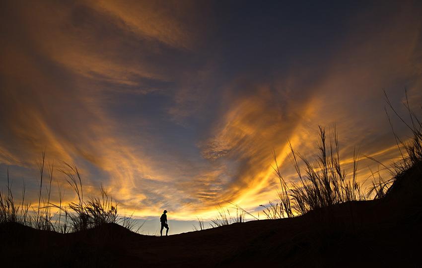 Namibia Elim Düne