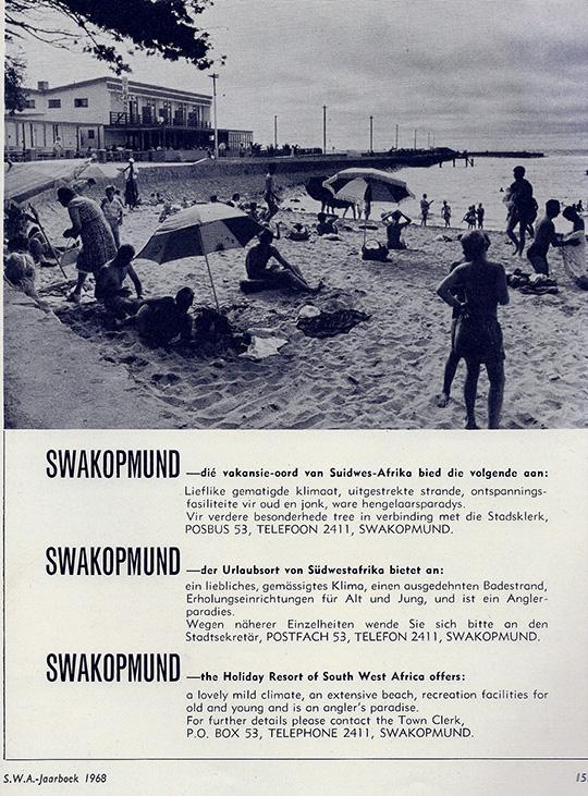 Swakopmund SWA Jahrbuch 1968