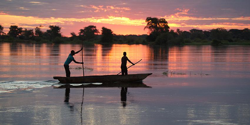 Mokoro, Sambesi-Region