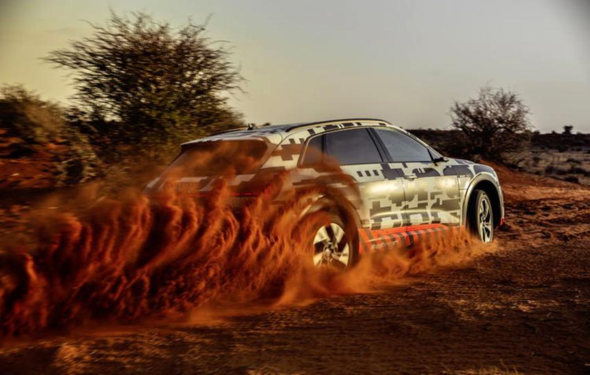 Audi E-tron, Namibia