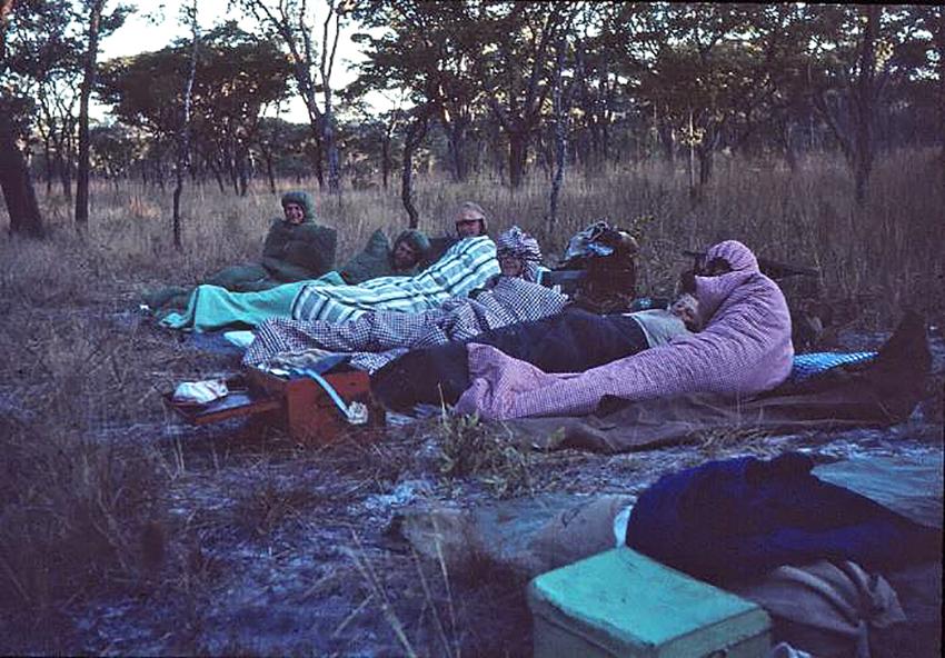 Nachtlager, Namibia