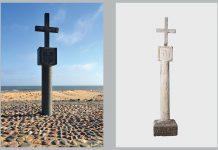 Säule von Cape Cross, Duplikat und Original