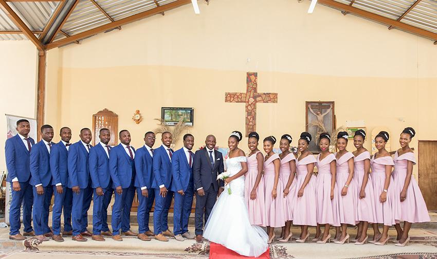 Ovambo-Hochzeit kirchliche Trauung_Sparkle Studio