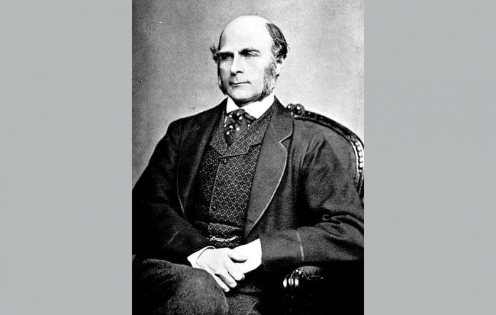 FrancisGalton ca. 1850