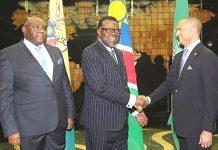 Gespräche DRK Namibia
