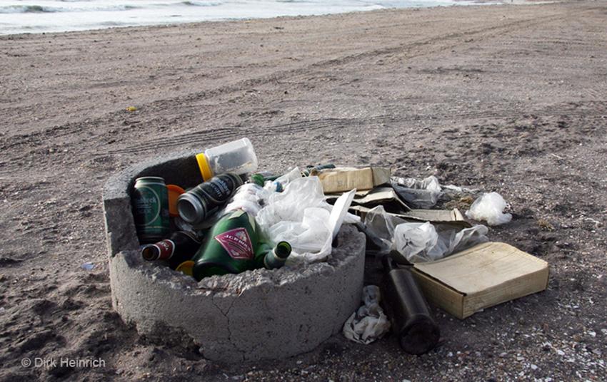 Swakopmund Strand Müll