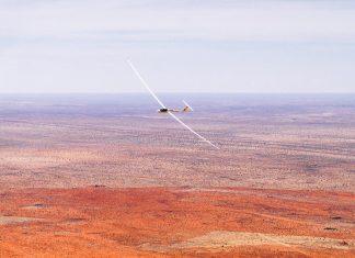 Segelfliegen Namibia