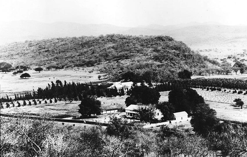 Missionskirche Ghaub, historisch