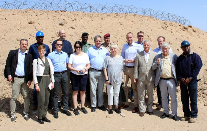 Delegation des Bundestags in Walvis Bay