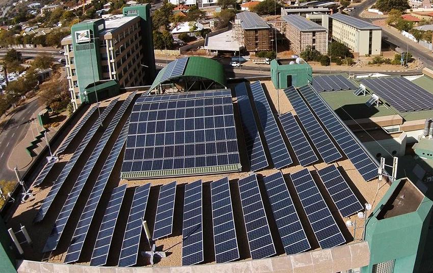 NamPower Windhoek Solardach