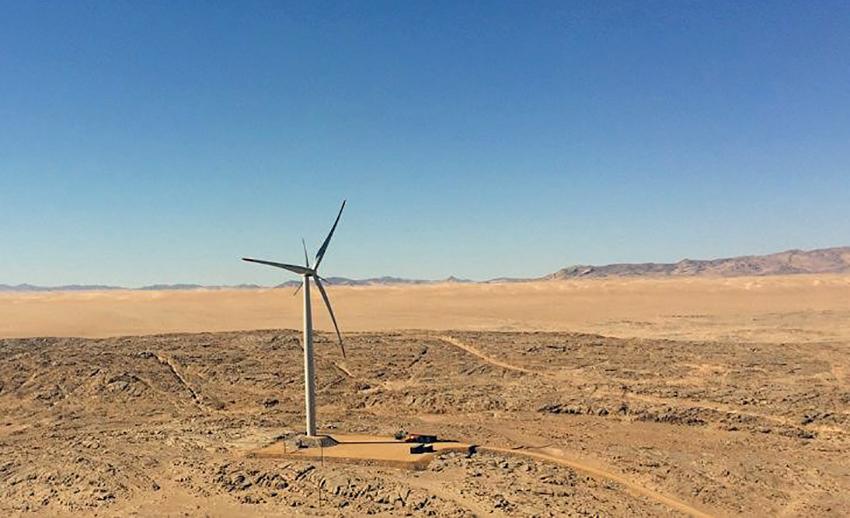 Windturbine Lüderitzbucht