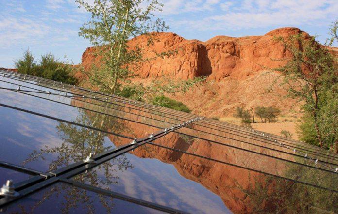 Namib Desert Lodge Solaranlage