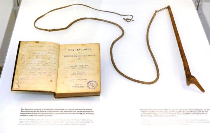 Bibel und Peitsche von Hendrik Witbooi (1830-1905)