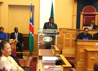 Namibia, Lage der Nation
