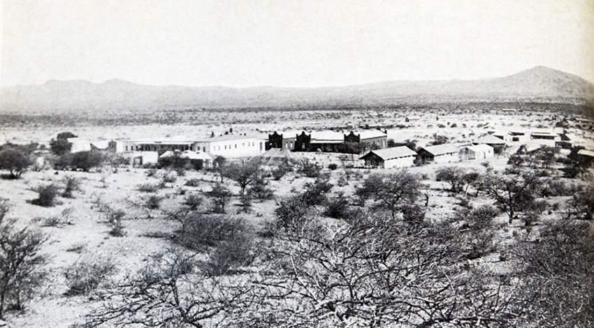 Garnisonslazarett Windhoek, um 1900