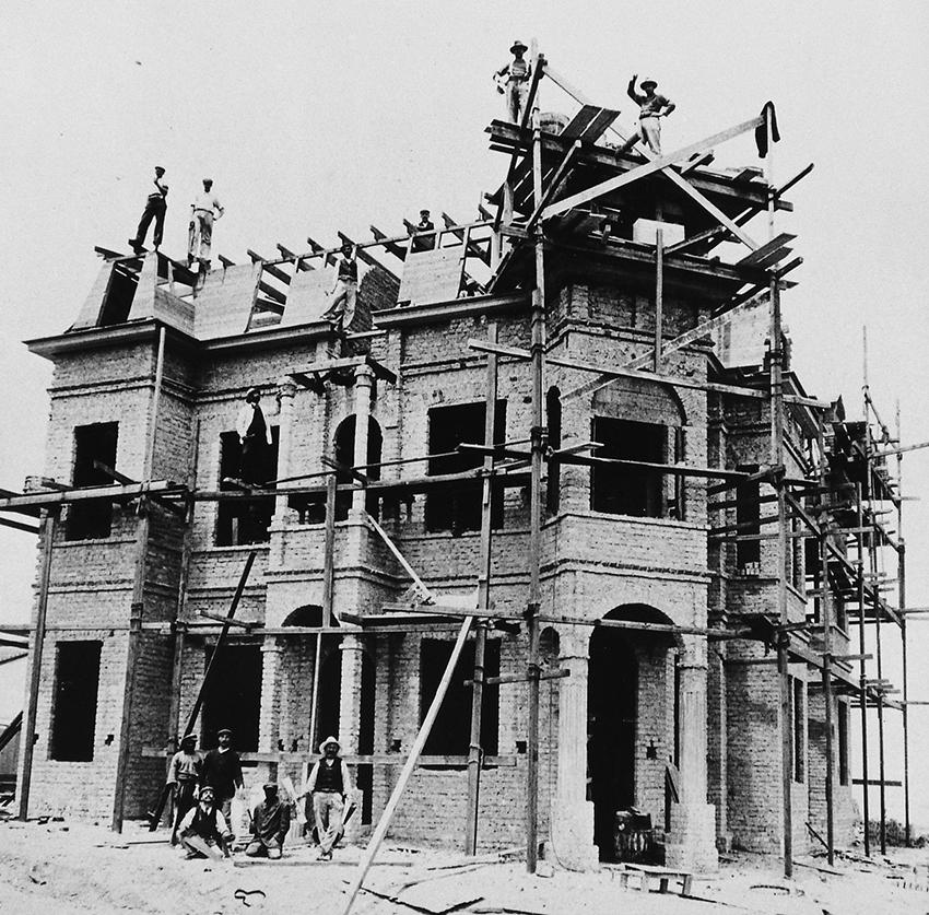 Hohenzollernhaus Rohbau