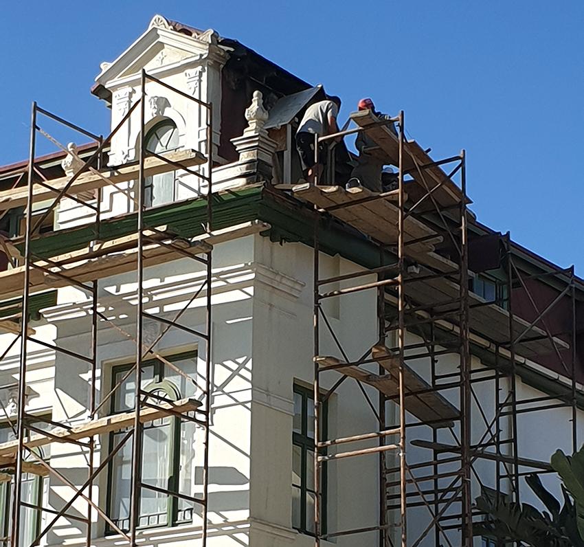 Hohenzollernhaus Renovierung