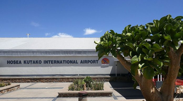 Hosea Kutako International Airport Namibia