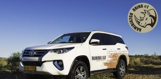 Namibia2Go Toyota Fortuner