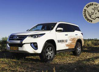 Namibia2Go Toyota Fortuner