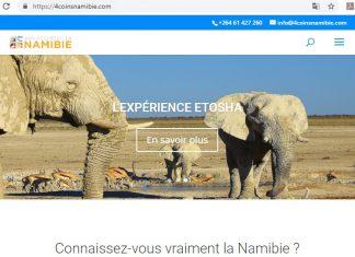 Screenshot Aux 4 coins de la Namibie