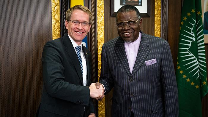Bundesratspräsident Daniel Günther & Präsident Hage_Geingob