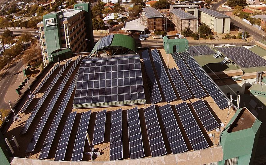 NamPower Solaranlage