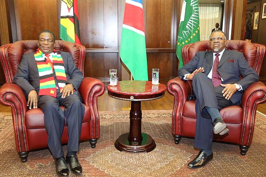 Zimbabwischer Staatsbesuch